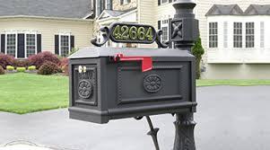 better box mailboxes decorative cast aluminum mailboxes curbside