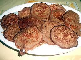 chataigne cuisine recette de petits pancake a la farine de chataigne