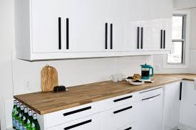 white gloss kitchen doors integrated handle before after kitchen renovation interior design real