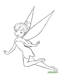 tinker bell coloring pages kids educations liberty