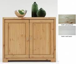 Schlafzimmer Kommode Holz Kommode 109x92x47cm 2 Holztüren Kiefer Massiv