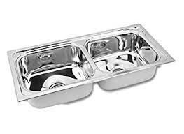 Gargson Kitchen Sink Double Bowl Stainless Steel Sink Size  X - Kitchen double bowl sinks
