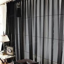 Black Sheer Curtains Black Sheer Curtains Codingslime Me