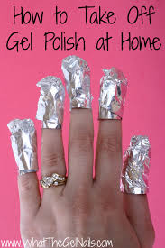 how to take off gel nails how you can do it at home pictures