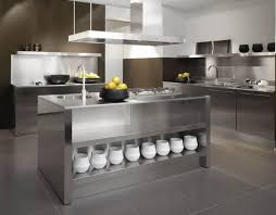Modern Kitchen Cabinets by Steel Kitchens Archives Alluring Metal Kitchen Cabinets Home