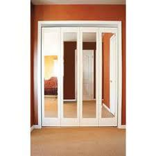 Impact Plus Closet Doors Impact Plus 36 In X 80 In Mir Mel Mirror Solid Primed Mdf