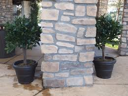 Fake Bushes Decorating Artificial Topiary Trees Centrepiece For Your Interior
