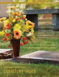 Unique Flower Vases Cemetery Flower Vases Cemetery Vases Foreversafe Theft