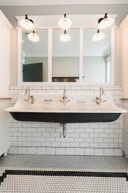 Bathroom Vanity With Copper Sink by Trough Style Sink Tags Trough Bathroom Sink With Two Faucets