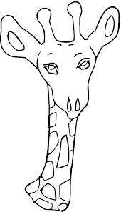 impressive giraffe to color 12 792