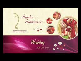 marriage card odia wedding card
