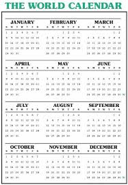 the world calendarassociation home page