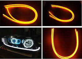 Automotive Led Light Strips 12v Car Led Flexible Strip Tears Light Daytime Running Lights 60cm