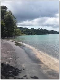 pantai pasir hitam black sand beach asiatour