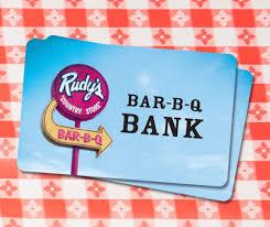 bank gift cards rudy s gift card rudy s bar b q