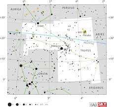taurus constellation wikipedia