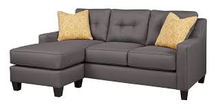 ashley furniture blue sofa ashley furniture aldie nuvella blue sofa chaise the classy home