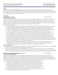 information technology resume template 2 project coordinator resume sle resume badak