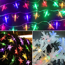 Solar Powered Tree Lights - solar powered dragonfly garden lights australia new featured
