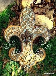 fleur de lis garden finial fleur de lis garden ornaments seattle