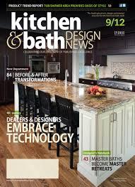 kitchen and bath design magazine excellent kitchen and bath design magazine kbdncover 18078 home
