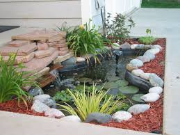 Landscaping Ideas For Small Front Yard Small Backyard Pond Landscaping Ideas Freshouz Front Yard Pond