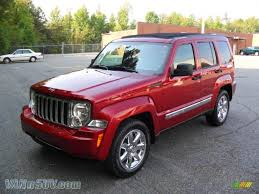 jeep liberty limited 2011 jeep liberty limited in deep cherry red crystal pearl