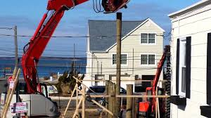 homes on pilings house raising piling installation youtube