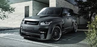 siege auto sport tuning range rover tuning by hamann