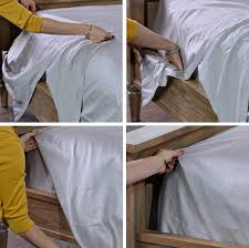 Folding Bed Sheets How To Fold Hospital Corners How To Decorate