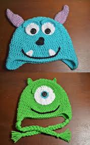 8 best sully monster images on pinterest crocheted hats