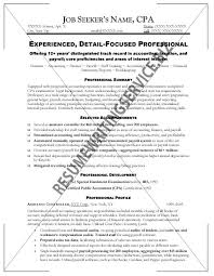 Samples Of Customer Service Resumes by Sample Cpa Resumes Resume Cv Cover Letter Staff Accountant Resume