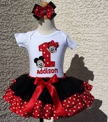 mickey ribbon birthday minnie and mickey mouse ribbon lace ship tutu set