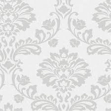 aurora white silver wallpaper by graham and brown s 17th st