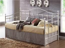 White Metal Daybed With Trundle Metal Daybed With Trundle The Safe And Comfortable Daybed Home