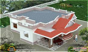Single Story Flat Roof House Designs Front Design Of House Single Storey Indian Elevation For Floor