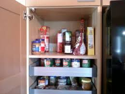 kitchen slide out pantry shelving organize ideas wall racks