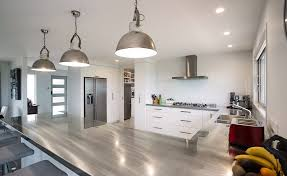 modern kitchen bench stunning stainless steel kitchen bench top with matching pendant