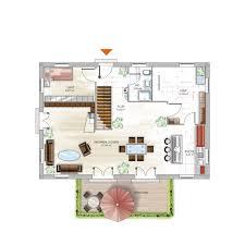 Haus Grundriss Icon 4