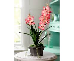 vanda orchid potted vanda orchid bloom artificial flowers