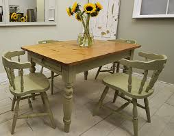 Shabby Chic Dining Table Sets Kitchen Table Rectangular Shabby Chic 6 Seats Black Lodge Chairs