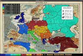 Europe Map Game by World War I Map