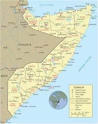 Map O Map Of Somalia Mogadishu Travel Africa