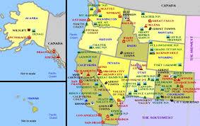 map of usa west coast map of west coast of florida us canada west coast map map maps usa