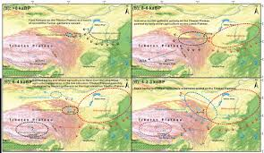 Plateau Of Mexico Map by Did Prehistoric Humans Occupy The Tibetan Plateau
