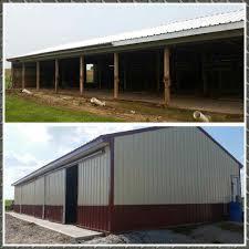 garage builder greenfield garage repair pole barns