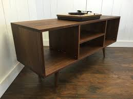 antique record album cabinet new mid century modern record player console stereo by scottcassin