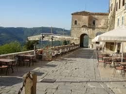 ancient motovun croatia outdoor seating area ancient town hilltop