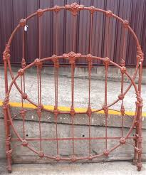 iron beds wedding ring bed cathouse antique iron beds