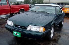 7 up edition mustang 1990 feature 25th anniversary 7 up convertible